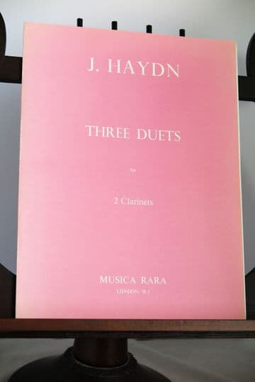 Haydn J - Three Duets for 2 Clarinets
